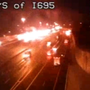 Pedestrian killed by tractor-trailer on I-95 in White Marsh