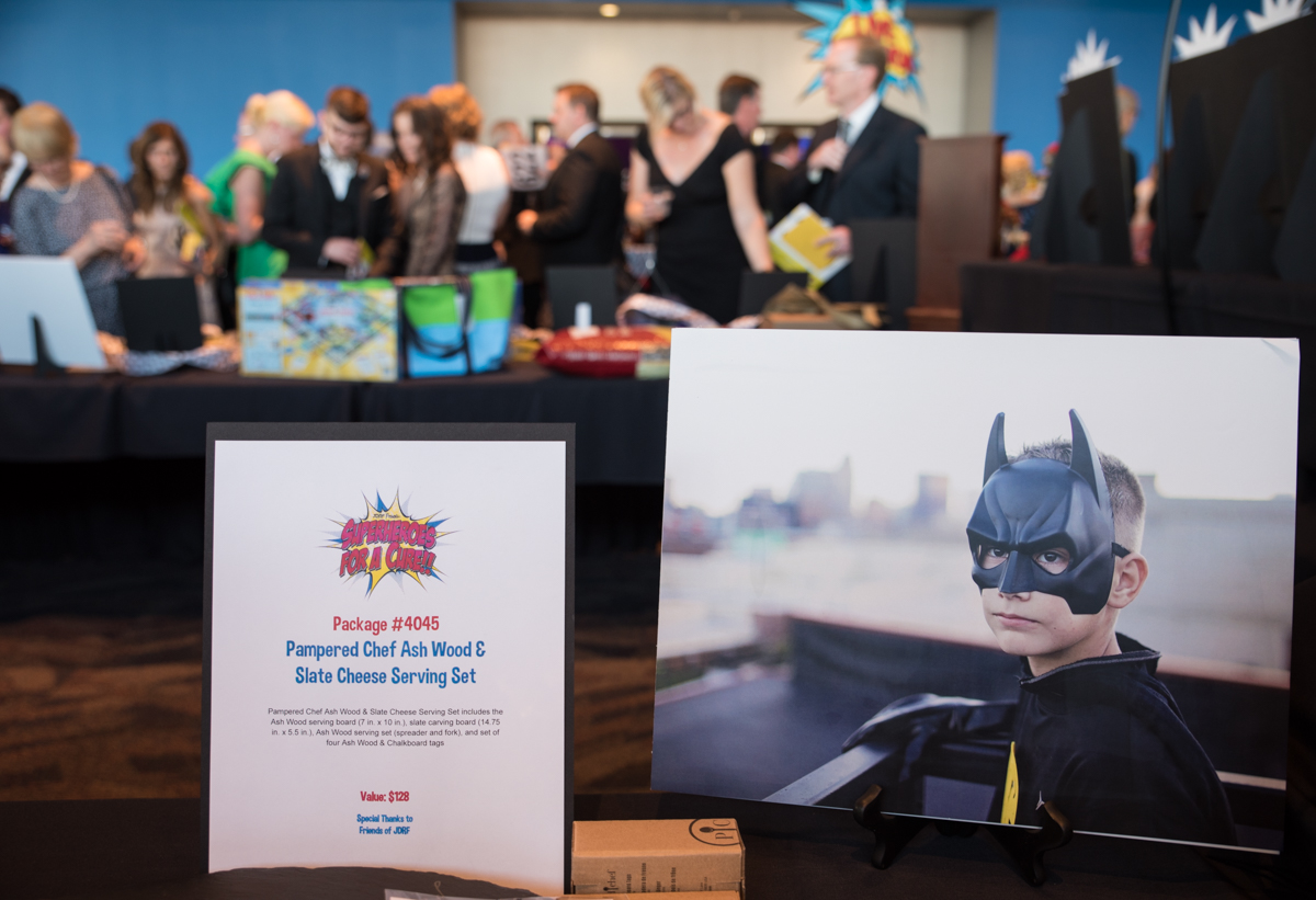 "The 2017 Cincinnatian of the Year gala took place on Saturday, May 13 at the Duke Energy Convention Center, with a theme of ""Superheroes for a Cure."" The annual event is a fundraiser for JDRF. Dan Schimberg was this year's honoree. / Image: Sherry Lachelle Photography"