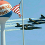 Thousands crowd Pensacola beach for Blue Angels rehearsal