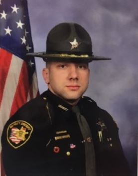 Deputy Jacob Shaw, photo from the Clark County Sheriff's Office