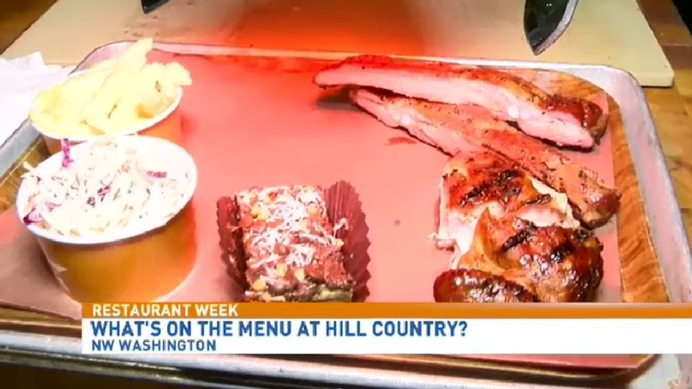 Restaurant week spotlight on iron gate wjla for Argents hill country cuisine
