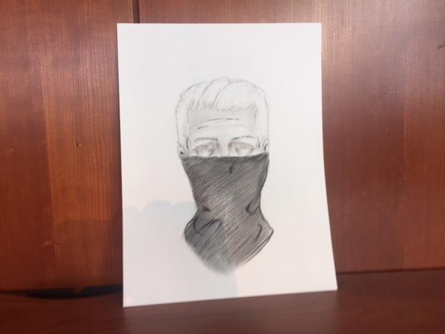 A police sketch from a description a woman gave of the man she says raped her Wednesday night.<p></p>