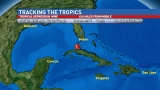 Tropical Depression Nine Heads into Gulf of Mexico