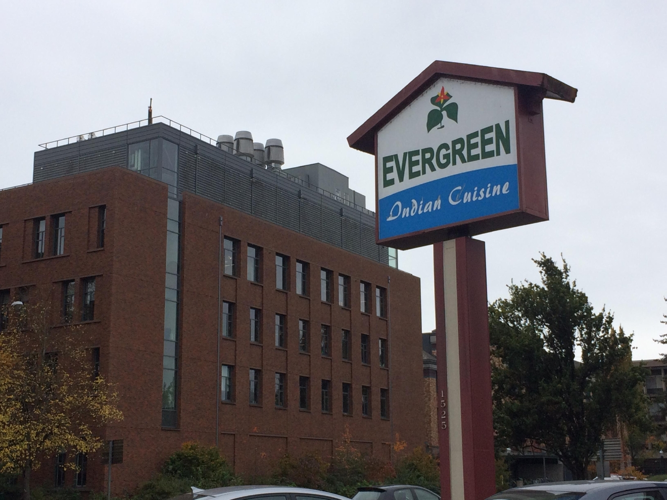 The owner of Evergreen Indian Cuisine said she's worried about what could happen to her restaurant when UO expands. (SBG)