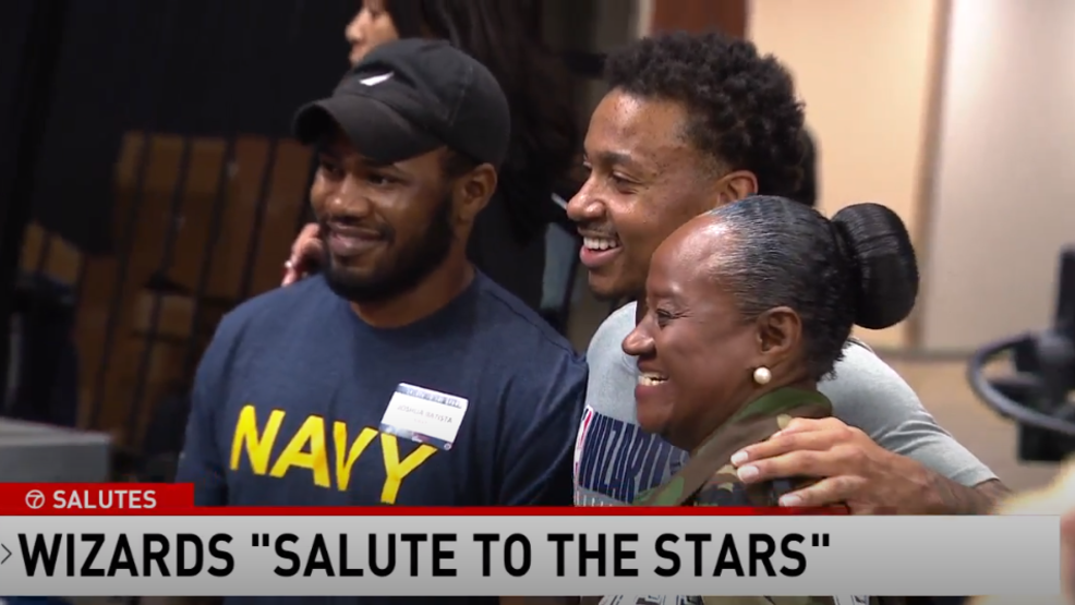 """Wizards' """"Salute to the Stars"""" is a cherished Veteran's Day tradition"""