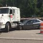 Wreck halts traffic on Ohio 7