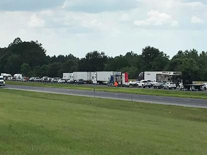 Accident closes I-10 WB near Wilcox Road exit in Baldwin