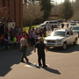 Jackson County elementary school evacuated after threat found on bathroom wall
