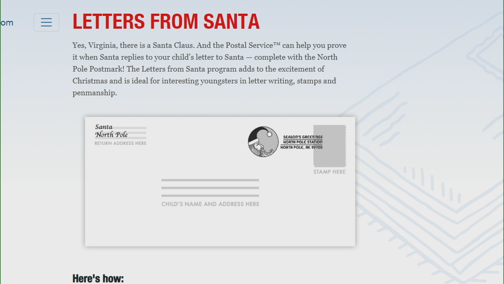 heres how to help your child get a letter from santa without falling prey to con artists