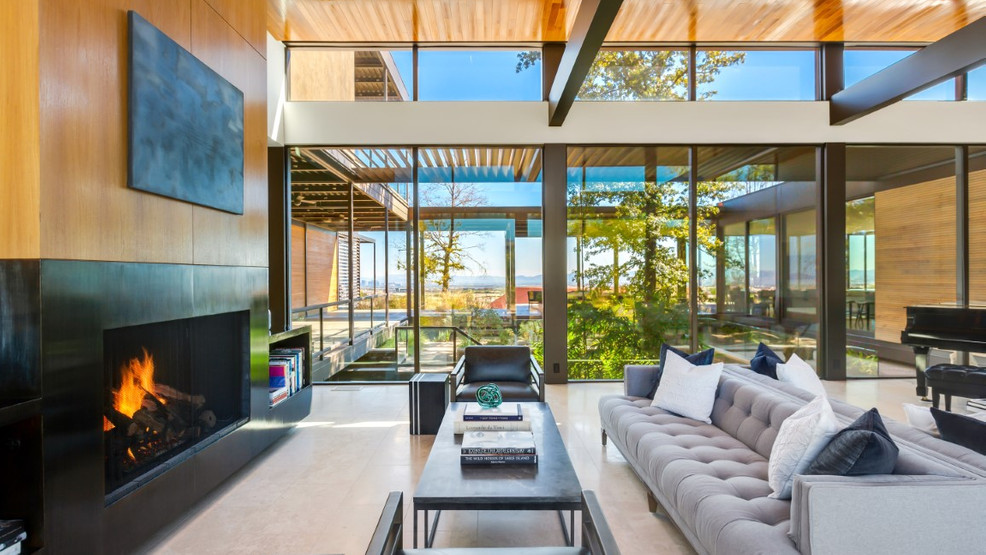 Ultra-contemporary Las Vegas home with immersive art-and-sensory experience on sale