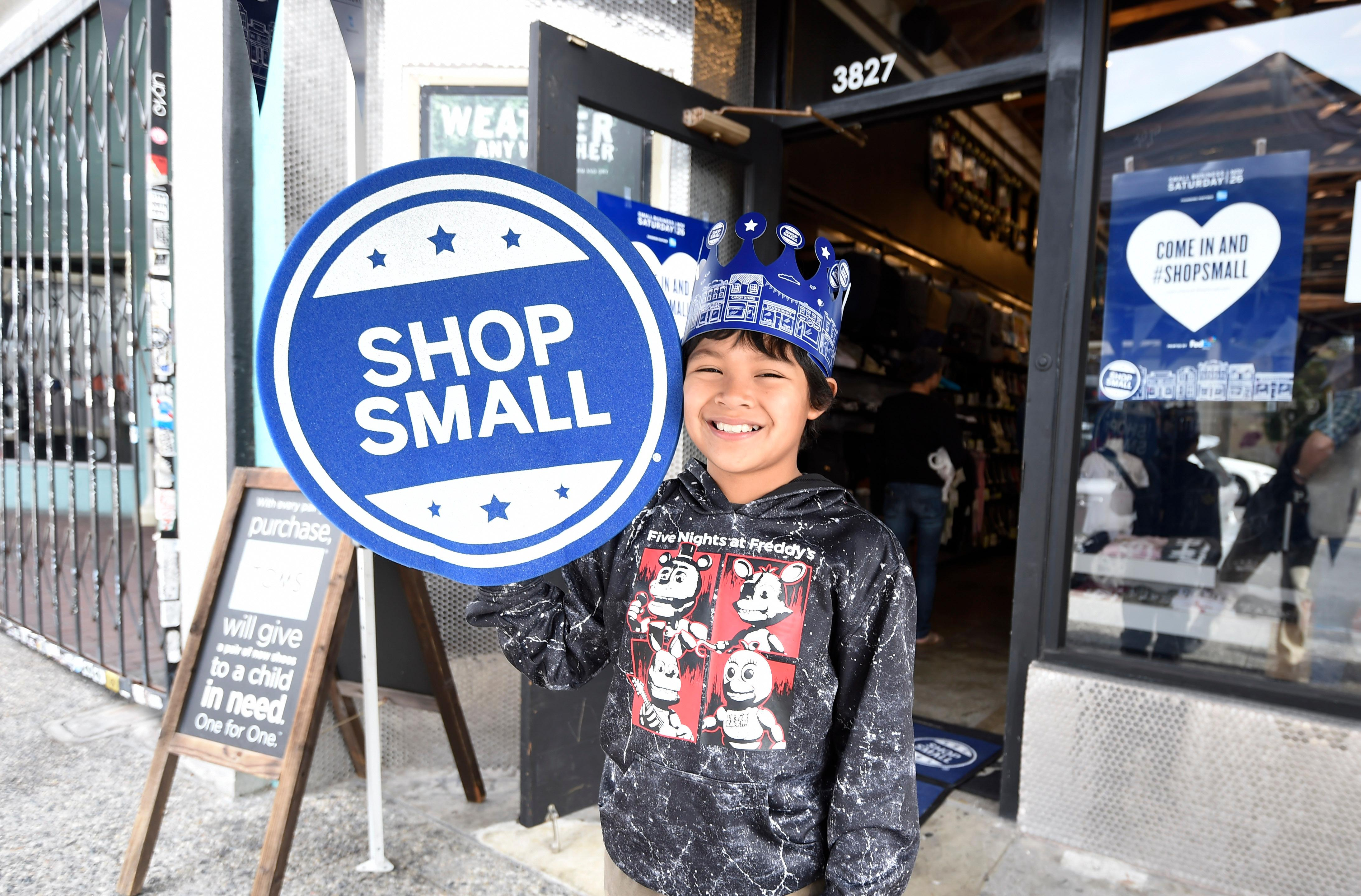 Small Business Saturday (Matt Mills McKnight/AP Images for American Express)