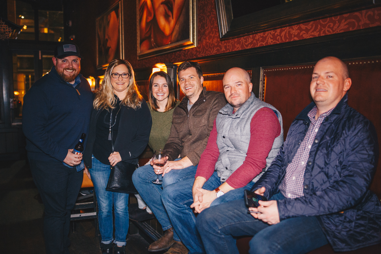 Ryan & Kristina Sketch, Amanda & Evan Crawford, Kevin Kuntz, and Rick Honotto at Righteous Room / Image: Catherine Viox // Published: 11.22.18