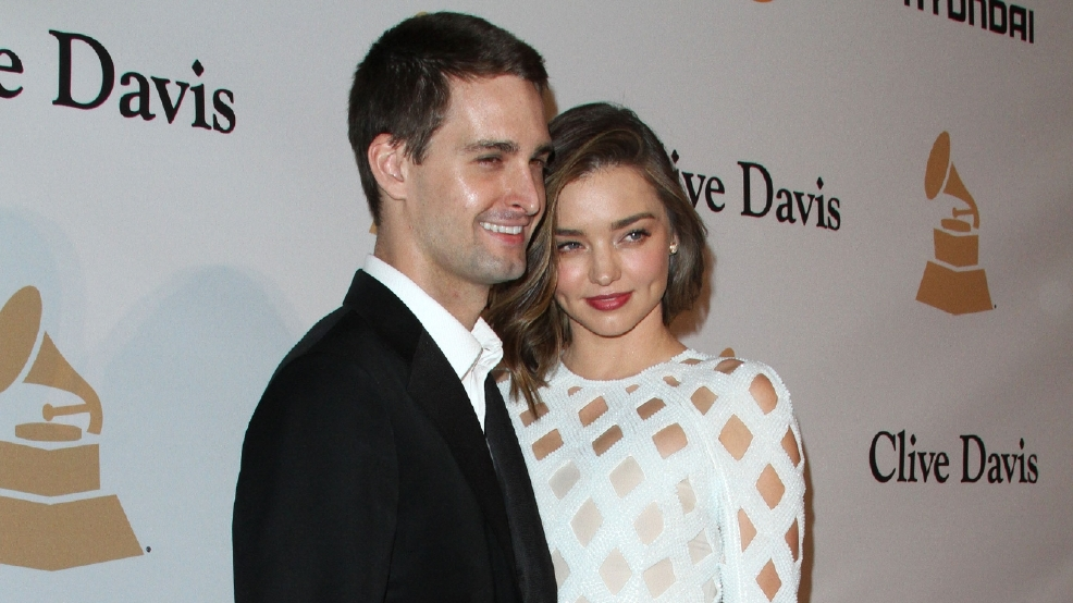 Miranda Kerr abstaining from sex before marriage to Snapchat mogul