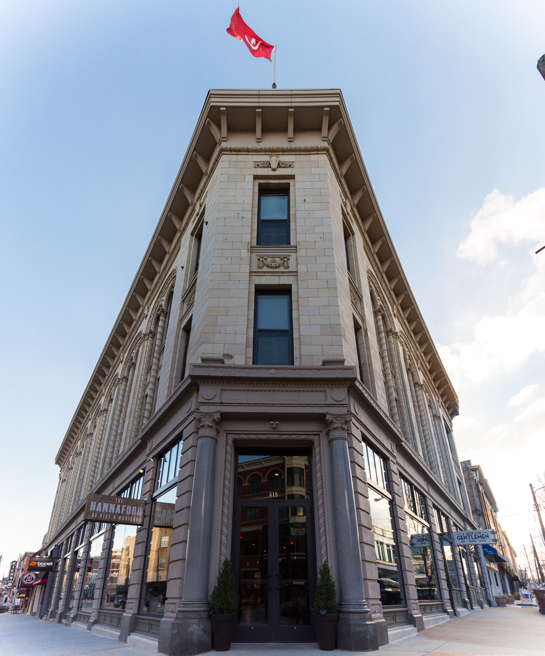 Located in Covington's historic Mutual Building, a new bar inspired by 19th-century architect Samuel Hannaford opened in November after its namesake. Hannaford designed prominent Cincinnati buildings such as Music Hall and City Hall. ADDRESS: 619 Madison Ave., Covington, Kentucky 41011 / Image: Phil Armstrong, Cincinnati Refined / Published: 12.30.16