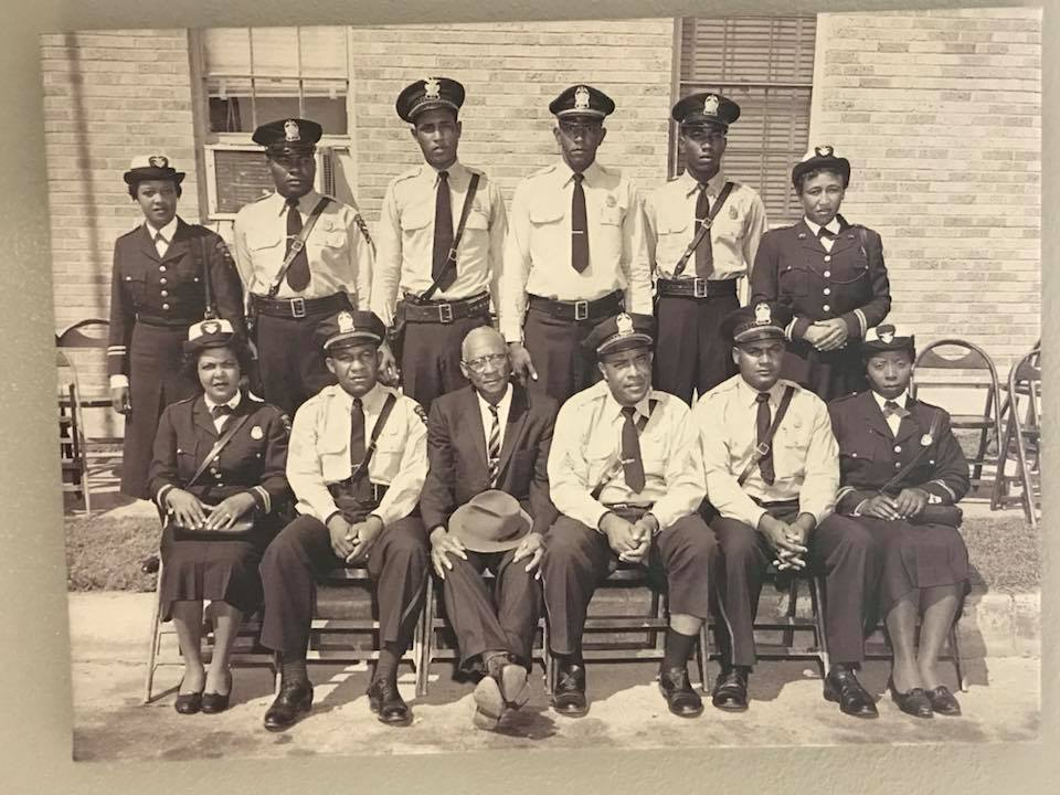 Some of the first black officers of the Port Arthur Police Department<p></p>