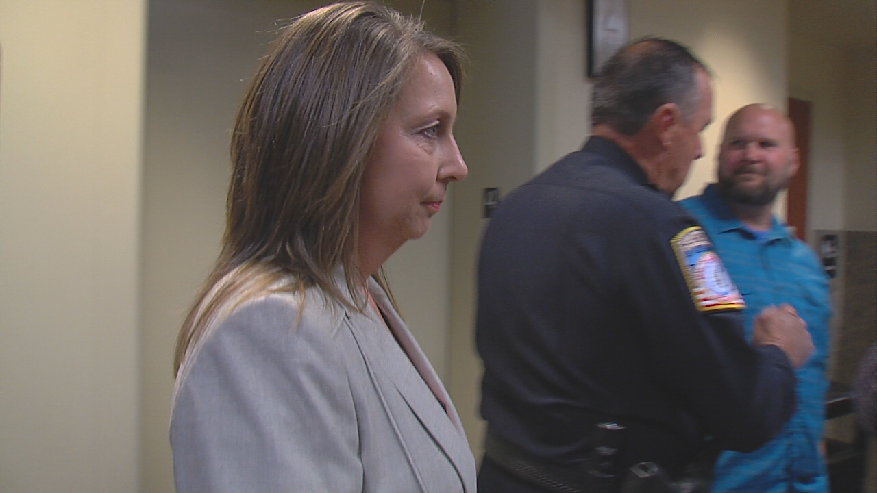 Betty Shelby, on trial for first-degree manslaughter after shooting and killing Terence Crutcher in September 2016, testified for more than two hours Monday. She detailed her training and what was going through her head when she shot Crutcher. (KTUL)