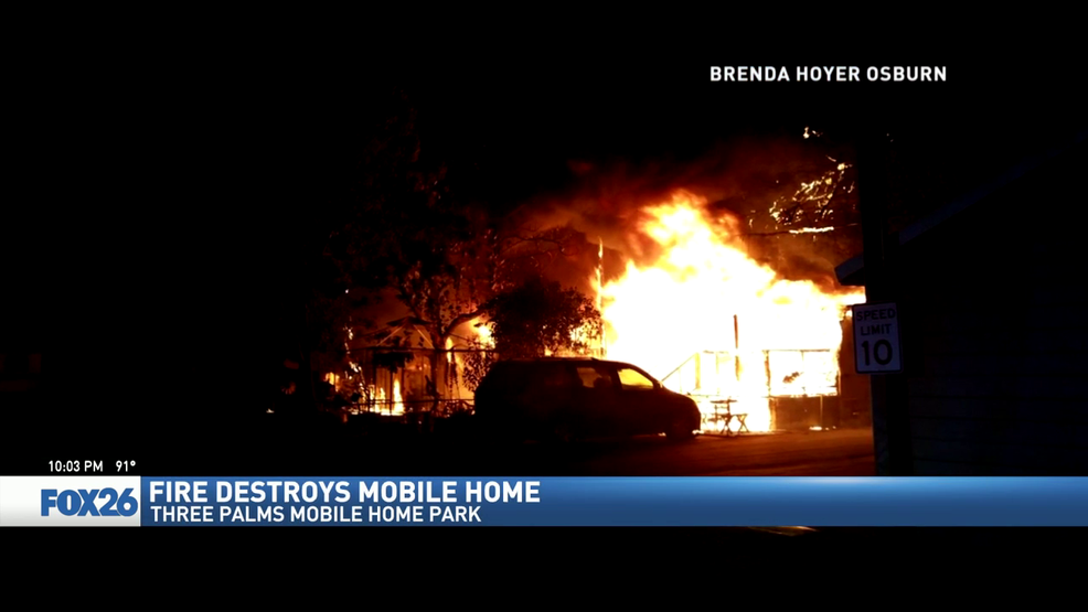 Fire Destroys Mobile Home Family Needs Clothing And Wheelchair