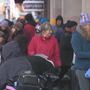 Group helps homeless in downtown Baltimore Thanksgiving morning