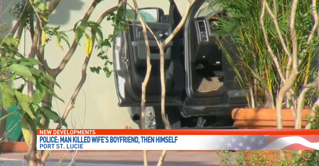 A man was killed  by his girlfriend's estranged husband in Port St. Lucie. (WPEC)