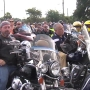 VIDEO: Bikers ride to honor law enforcement officers