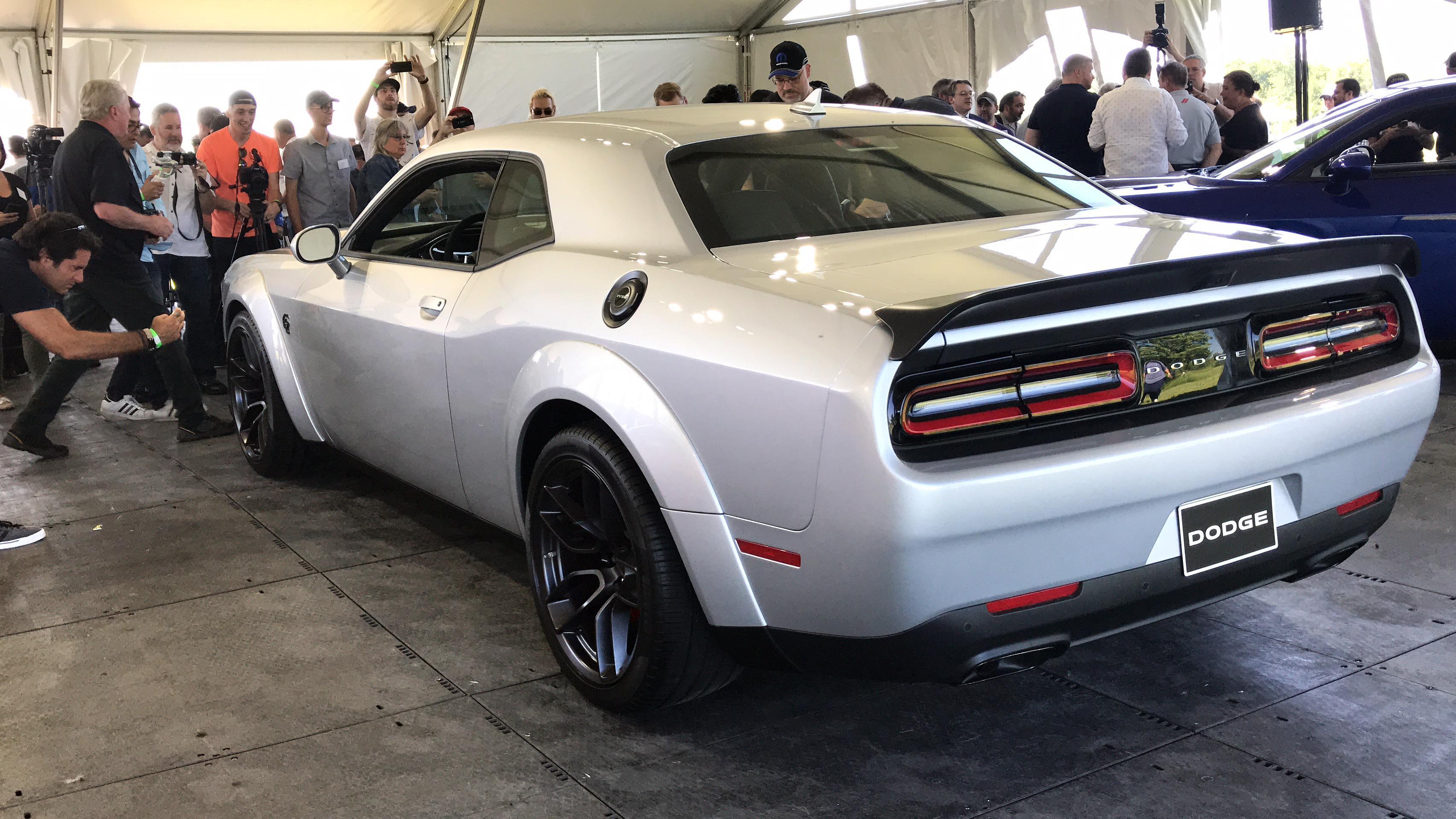 2019 Dodge Challenger Hellcat Redeye A Demon Possessed Hellcat Wnuv