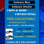 Embrace Blue distributes free wristbands to unite children and law enforcement