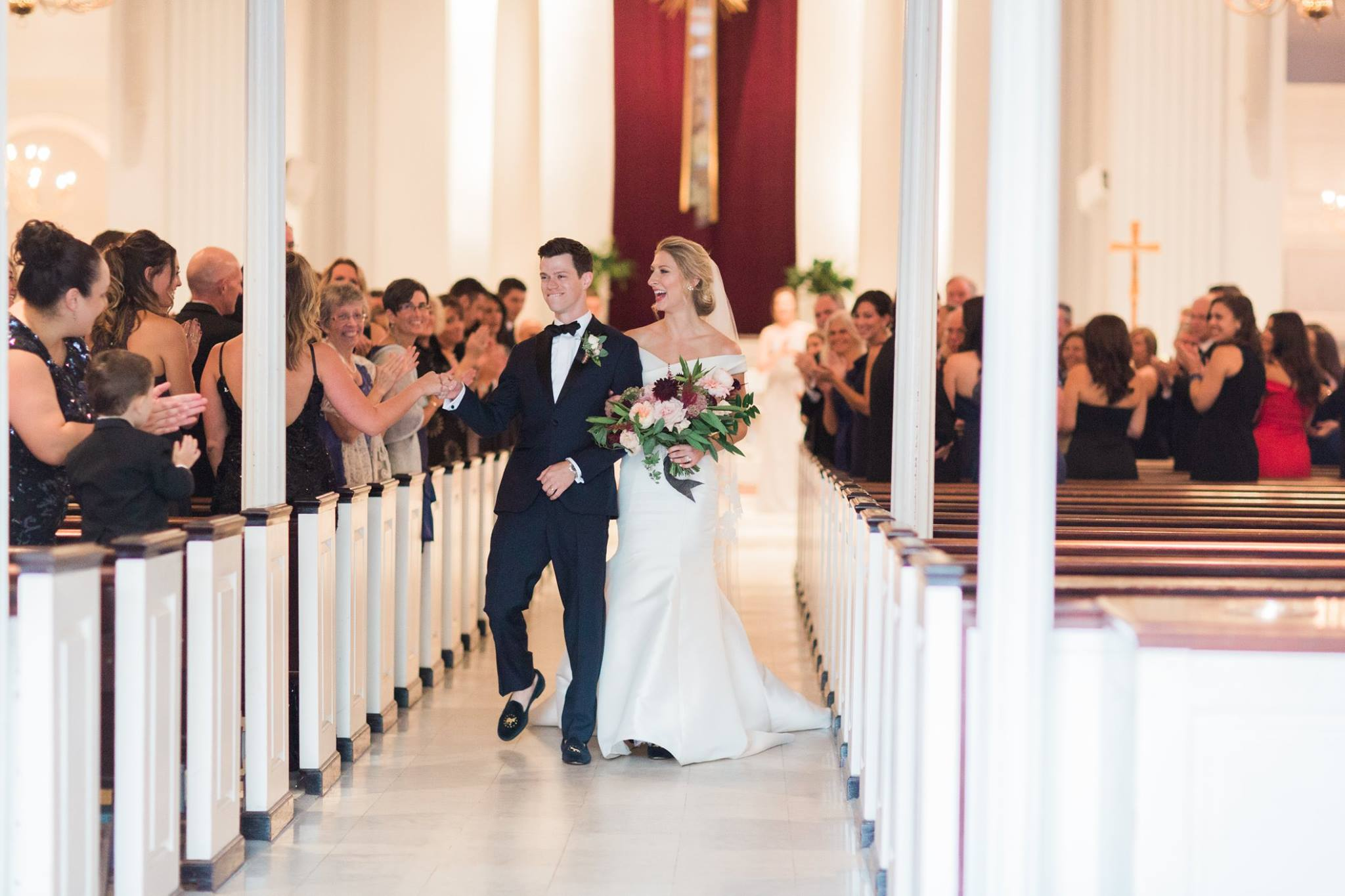 But for Erica,{ } the sanctity and tradition of her wedding ceremony was the main focus.{ } (Image: Abby Grace Photography/ abbygracephotography.com)