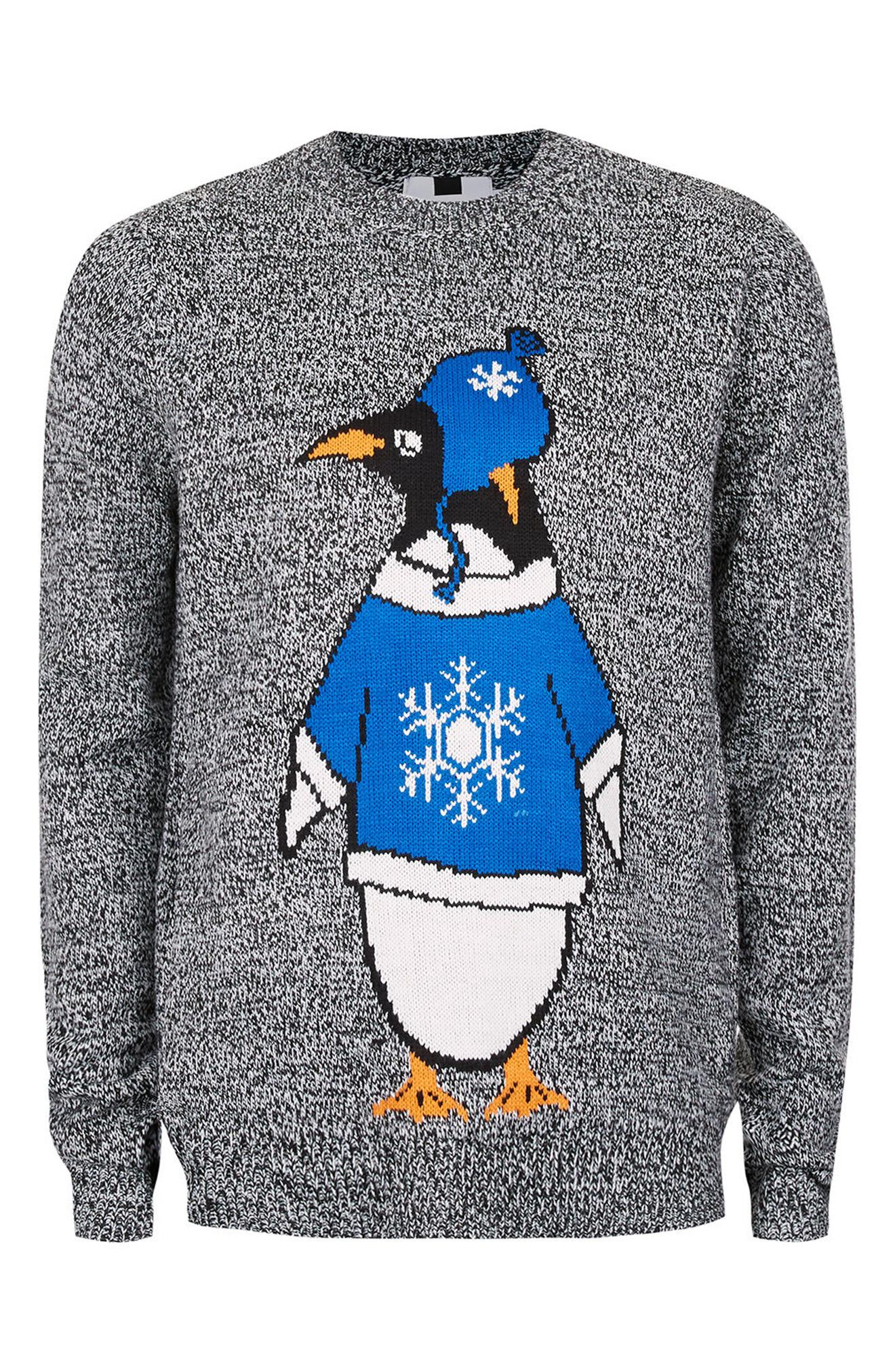 Topman Penguin Holiday Sweater, $55 (Photo: Nordstrom)