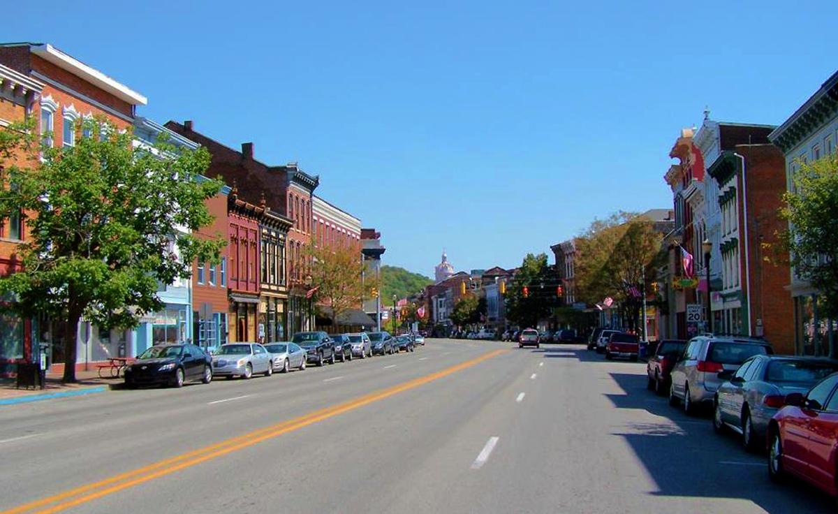 Old Main St. in Madison, Ind. (Image credit: Paige Malott)