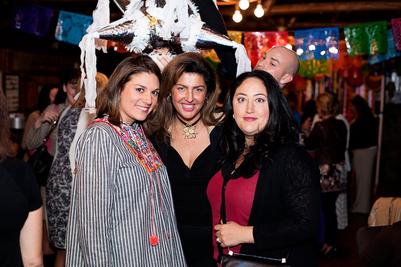 Pictured: Kelly Hollatz, Hengameh Nassef, Nicole Portal / ABOUT THE EVENT: On Thursday, October 20, more than 80 ladies and a few brave gentleman came out to FIESTA in honor of Dress for Success Cincinnati. A great deal of clothing donations including handbags, shoes and accessories were collected for use in the DfSC suiting center and DfSC's two retail stores, Portaluca of downtown and College Hill as well as nearly $3,000.00 in donations.  For more information about Dress for Success Cincinnati, their programs, volunteering opportunities, where and how to donate please visit www.dfscincy.org / Image: Sonja McGill of Sonja B. Photography // Published: 10.25.16