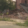 Old Seagrams plant, site of many fires, being torn down in Dundalk