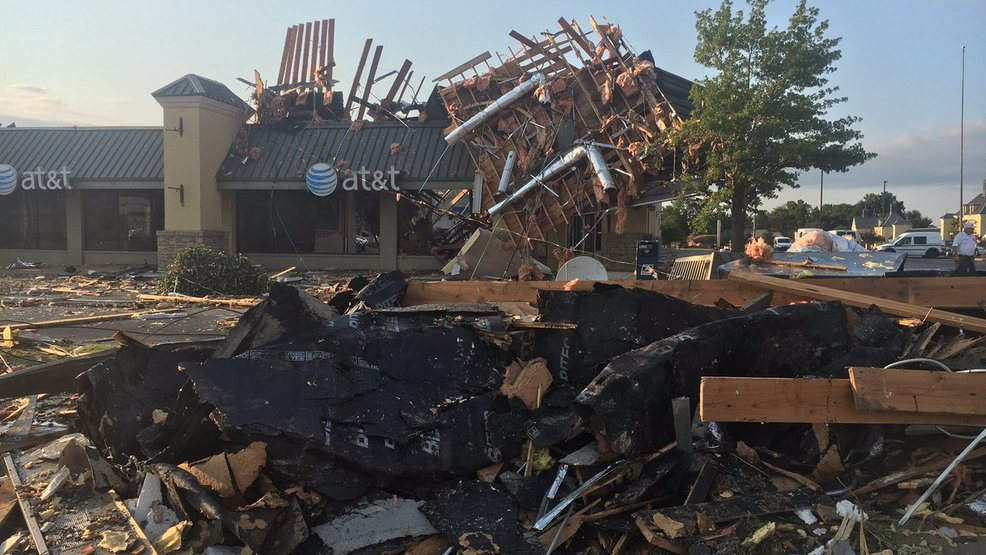 NWS: 2 tornadoes touched down in Tulsa metro Sunday; 3rd tornado hit Rogers County
