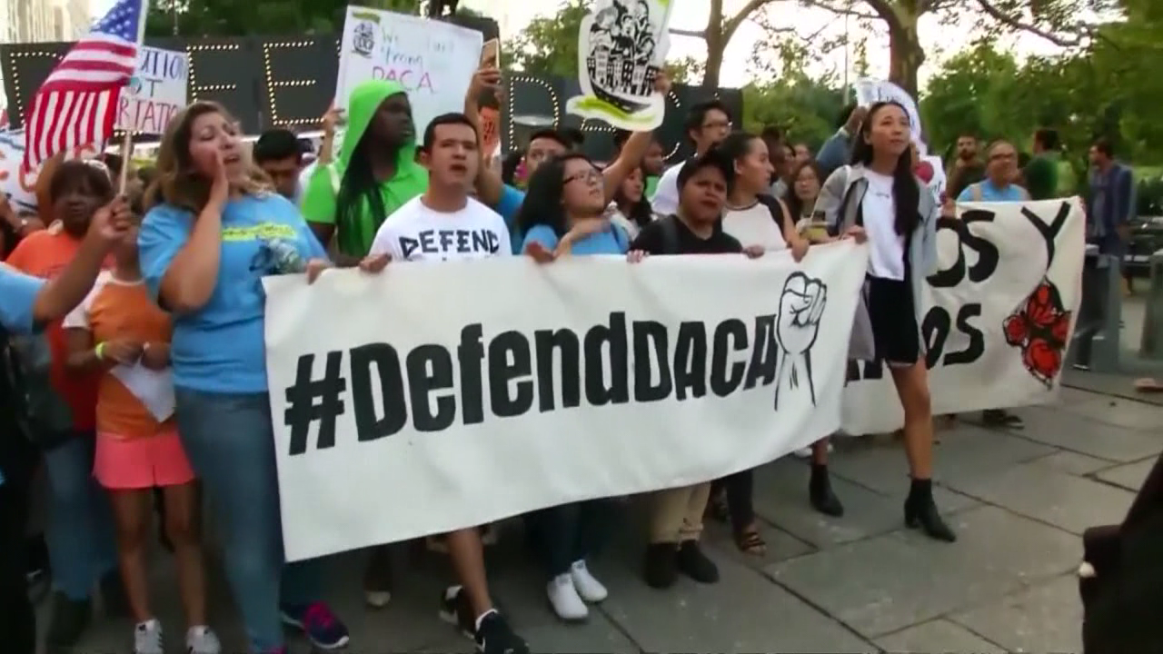 "Local Ohio ""Dreamers"" wait on DACA decision. (WKRC)"
