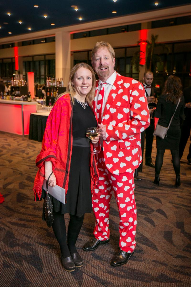 Pictured: Heidi Murley and Jay Lewis / Event: Heart Ball (Feb. 24) / Image: Mike Bresnen Photography // Published: 3.3.18
