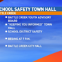 Parents, students to talk school safety at town hall in Battle Creek