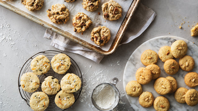 Start the party with savory cookies