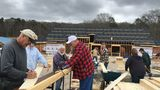 Carpenters for Christ crew contributes faith, manpower, laughter to Candler church