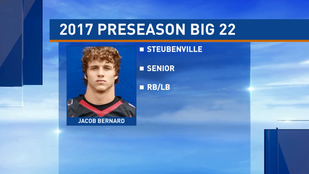 Preseason Big 22 Profile - Jacob Bernard, Steubenville Big Red