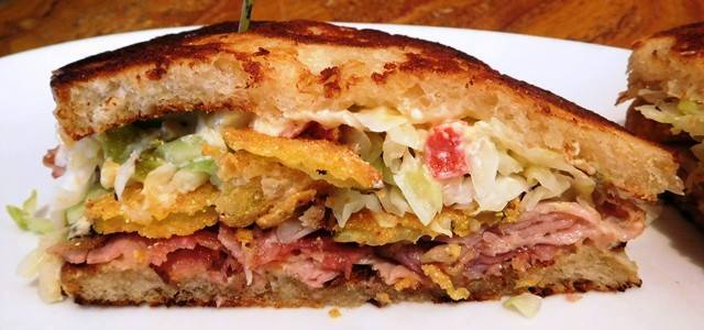 Kurobuta Ham and Roasted Jalapeno Pimento Cheese.   John Howie Steak, located in downtown Bellevue, brings major sandwich game. Every day the steakhouse features a unique and new sandwich called they call #SandwichOfTheDay. Enjoy the gallery! These are just a few of the daily sandwiches that look absolutely mind-blowing. To see the current Sandwich of the Day, check out John Howie Steak's Facebook page. (Image courtesy of John Howie Steak)