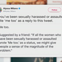 Trending 'Me Too' hashtag gives voice to sexual harassment