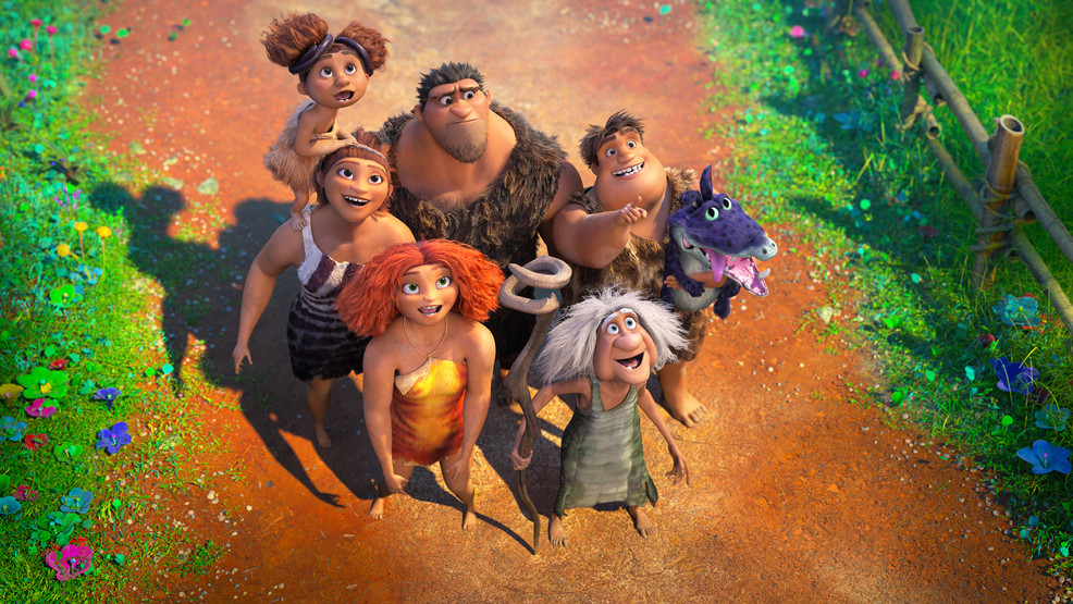 Review: 'The Croods: A New Age' offers a familiar, needed message of unity