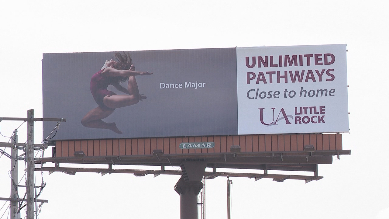 A state lawmaker tweeted against increasing funding for the Arkansas Department of Higher Education because of a university billboard.
