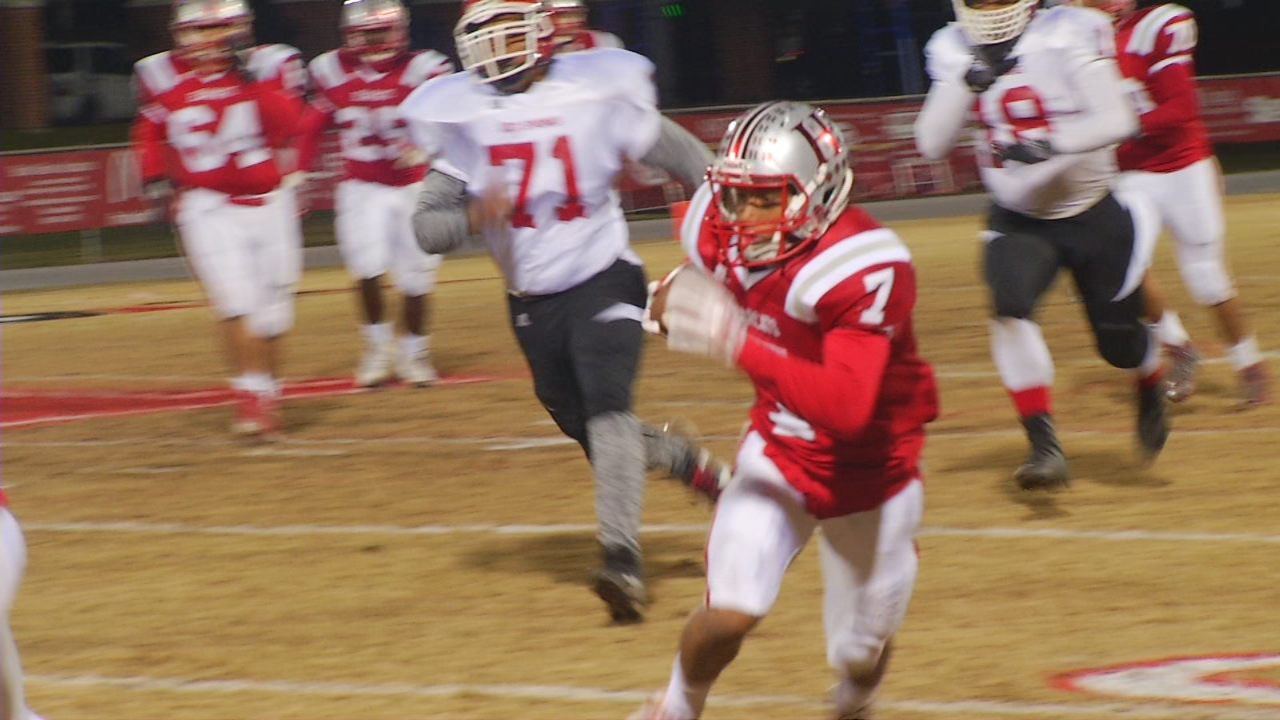 Red Springs vs. Hendersonville, 11-17-17