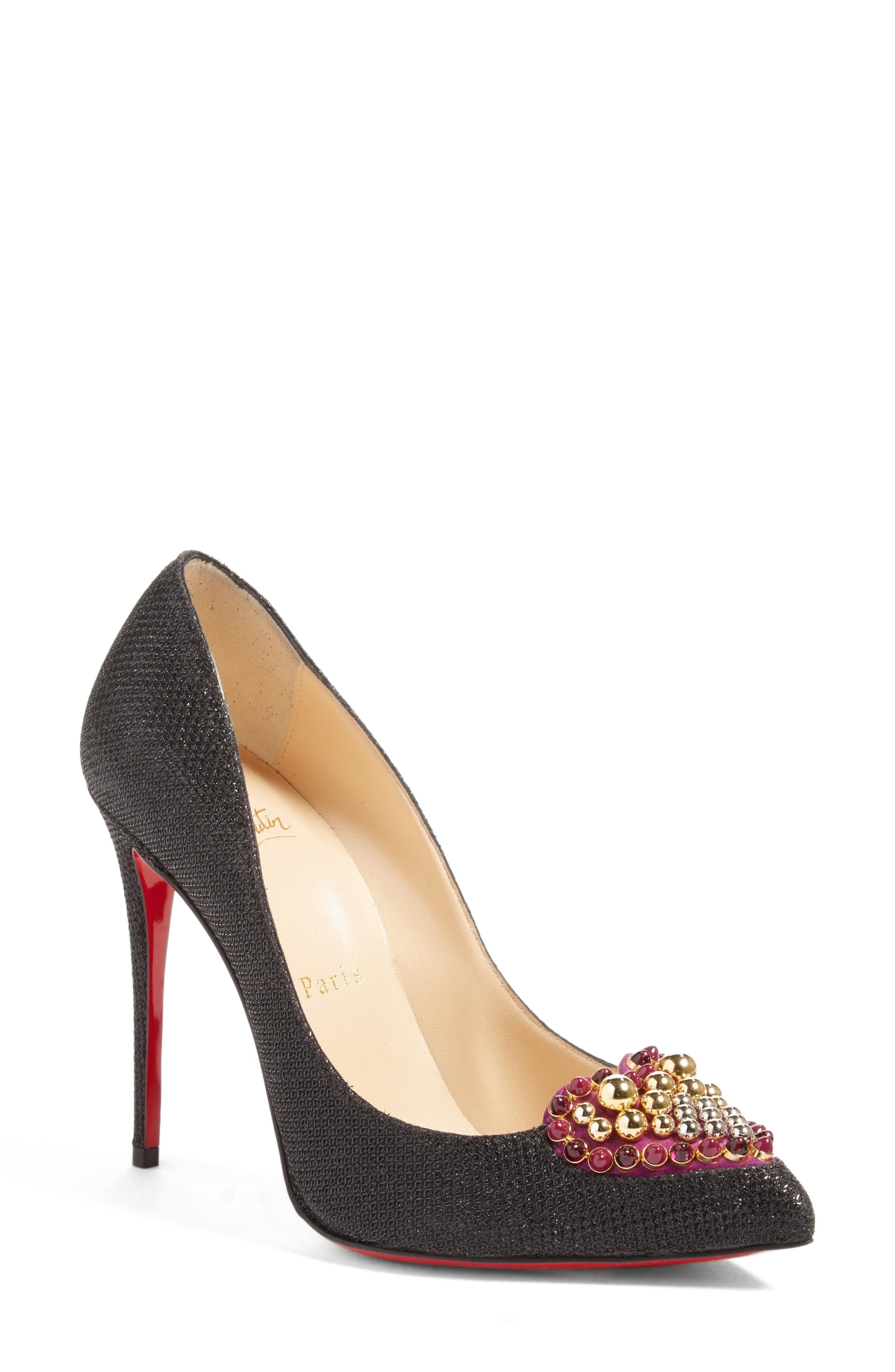 Christian Louboutin Coralta Mia Heart Pump $845 (Nordstrom)