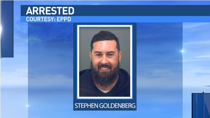 Stephen Jason Goldenberg, 45, was arrested and faces charges of possession of marijuana and manufacture delivery of a controlled substance more than 400 grams.