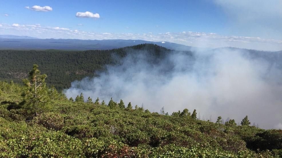 Cougar Butte fire near Bend grows to 140 acres | KPIC