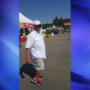 Sheriff's deputies have the man accused of taking pictures of girls at the fair