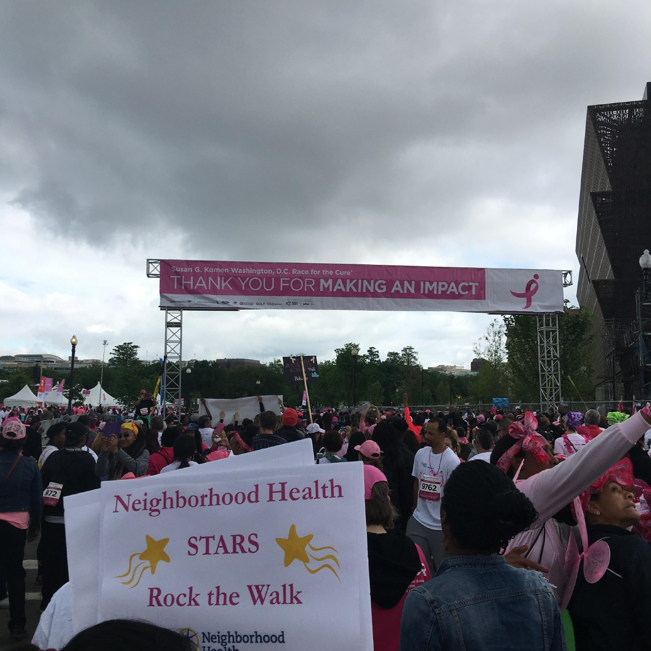 Susan G. Komen Race for the Cure, Saturday, May 7, 2016. (D. Baker)
