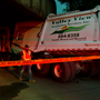 Police: Driver injured after garbage truck hits bridge