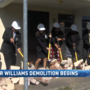 Demolition begins at Roger Williams Housing Project
